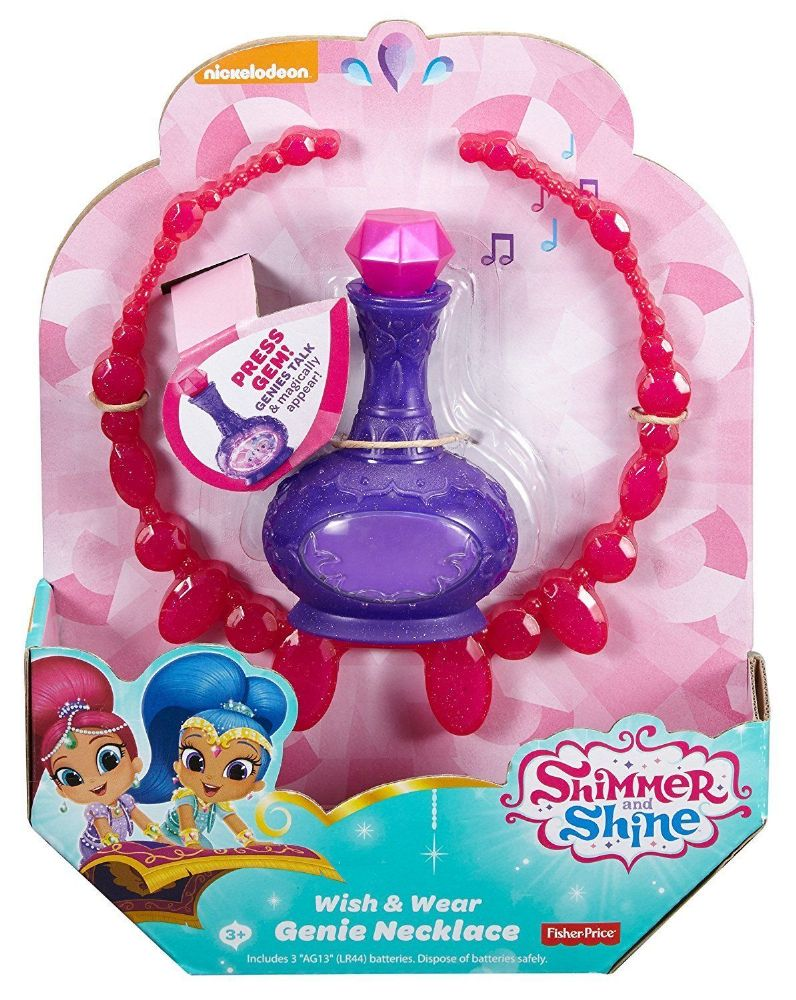 Shimmer And Shine Wish Amp Wear Genie Necklace